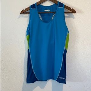 MARMOT ATHLETIC TOP.  Woman's small.